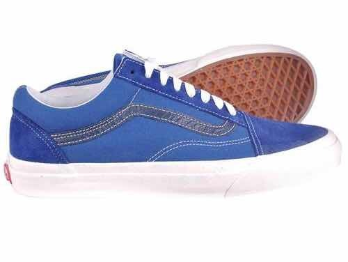 Tênis Vans Old Skool Vintage True Blue Black Iris - R  289 1d97f9876844
