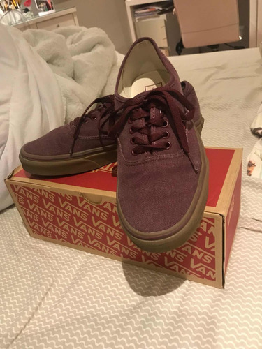 tênis vans original bordo