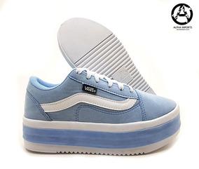 306dadecc3d Tenis Vans Feminino Tumblr - Tênis Azul claro no Mercado Livre Brasil