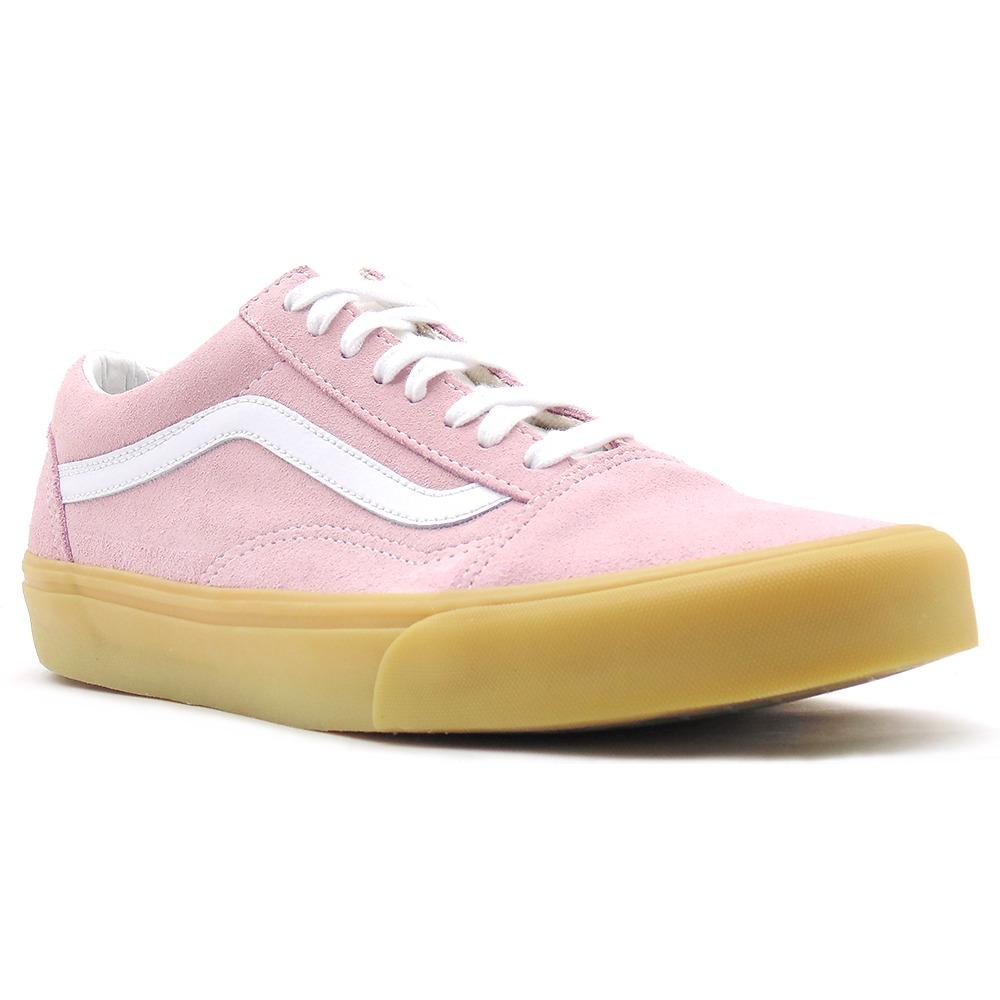 tênis vans ua old skool double light gum pink rl123. Carregando zoom. ccc5f6f6463d9