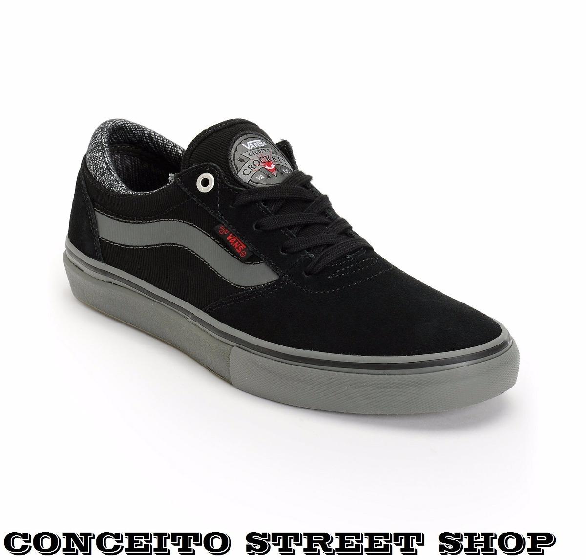 Tênis Vans X Independent Gilbert Croket Skate Preto Original - R ... cf8b30c21c1