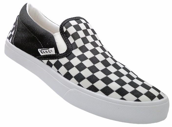tênis vans classic slip on quadriculado