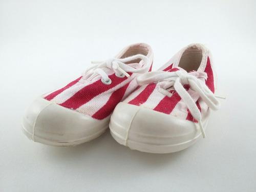 tênis vermelho branco conga  25 antigo sem palmilha