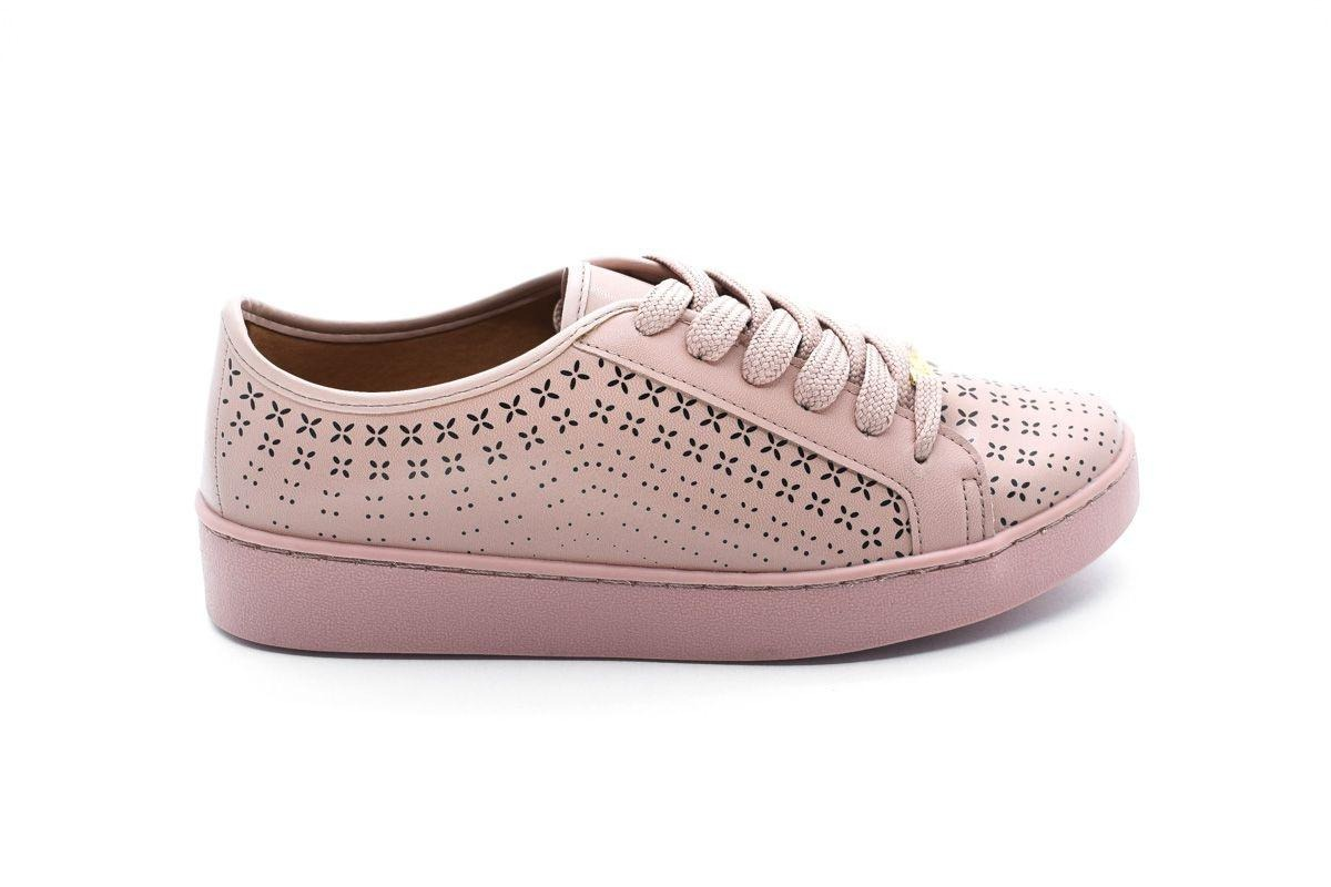 d34934f621 tênis vizzano casual estampado rosa. Carregando zoom.
