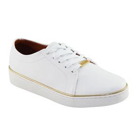 000bd54802 Tenis Vizzano Branco Com Dourado - Sapatos no Mercado Livre Brasil