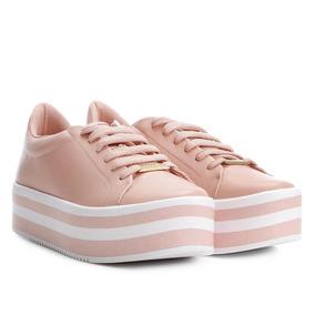 743cfbd38f Sapato Plataforma Listrado »rs Shop Feminino - Sapatos no Mercado ...