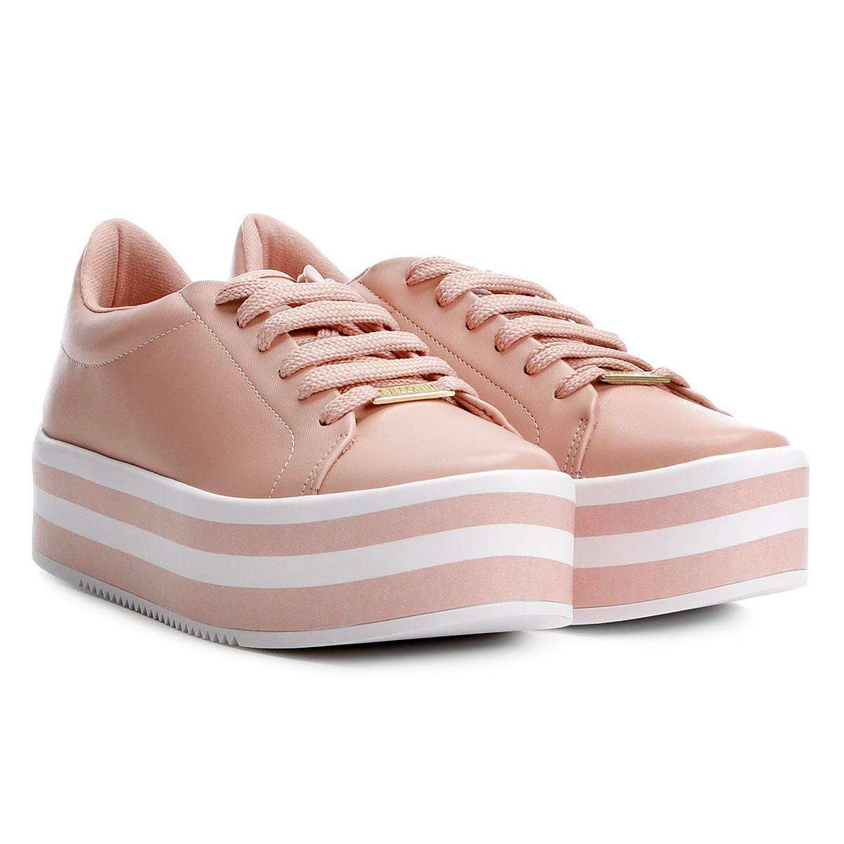 f5ab811c5 tênis vizzano plataforma listrado feminino rosa - 1298.100. Carregando zoom.