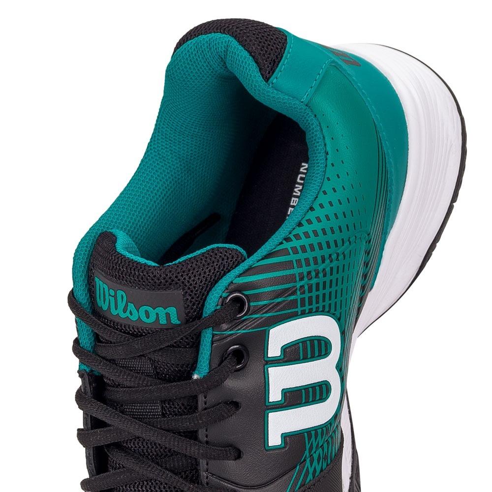8003876e33e tênis wilson ace plus preto e verde. Carregando zoom.