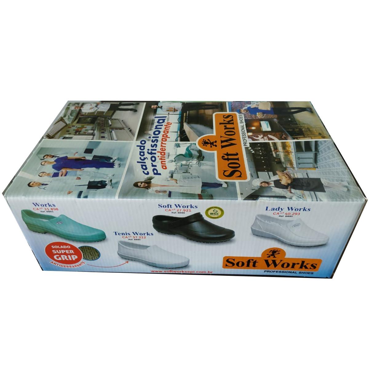 8730a1f1a tênis works eva cozinha hospital enfermagem bb80 soft works. Carregando zoom .