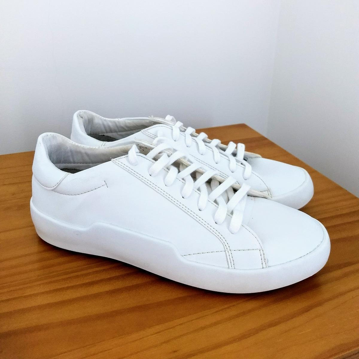 62def5ca392 tênis zara branco couro sintético feminino original. Carregando zoom.