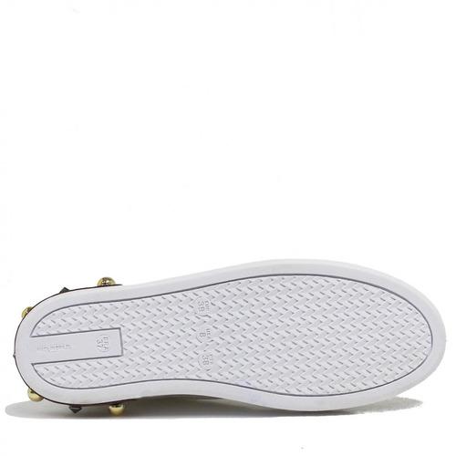 c98da9ac806 Tênis Zariff Shoes Nota Musical Bordado 165001zrf