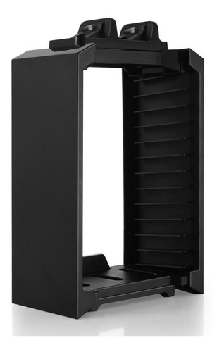 tnp ps4 stand + controller charger + game storage organizer