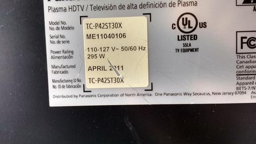 tnpa5350 (1) ss panasonic plasma modelo tc-p42st30x