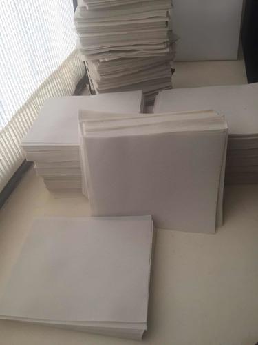 tnt 200 cortes 23x18.5,80gr, pliegues marcados, envío gratis
