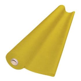 Tnt Liso Rolo Com 140cm X 50m 40g Amarelo Dubflex