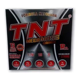 Tnt Mega Mass Gainer De12 Lbs Proteín - L a $11242