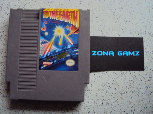 to the earth nintendo nes zonagamz