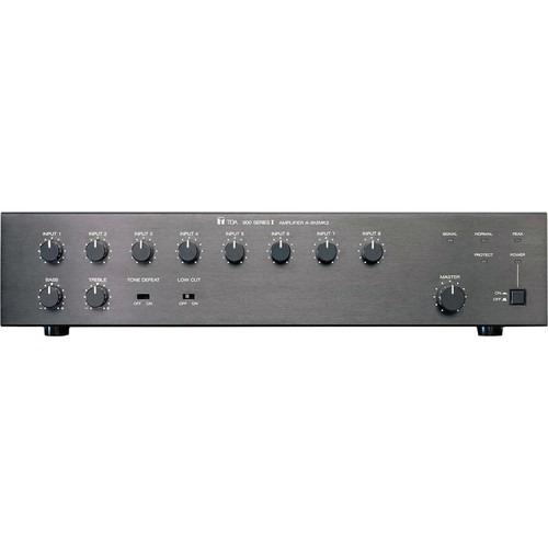 toa electronics a-912mk2 mezclador amplificador 8 canales