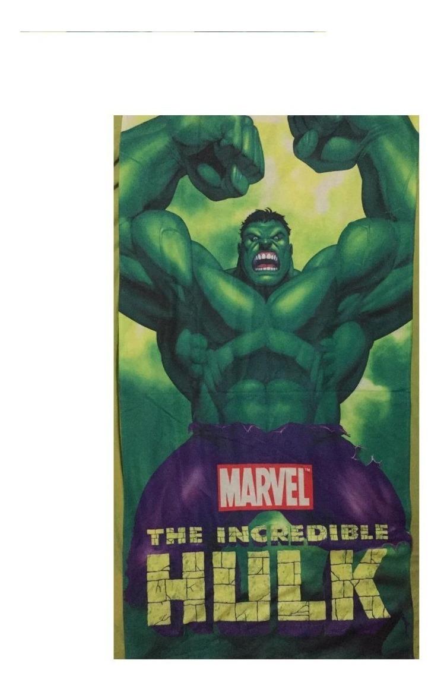 Toalha Banho Infantil Desenhos Disney Marvel Vingadores Hulk R