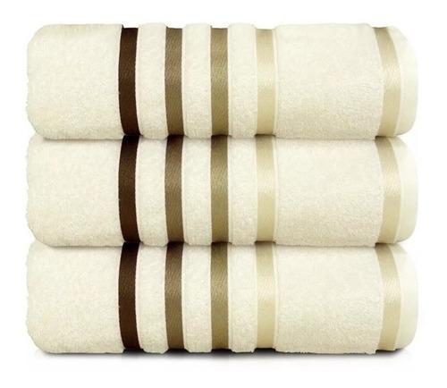 toalha banhão karsten lumina - penteado 1 peça  várias cores