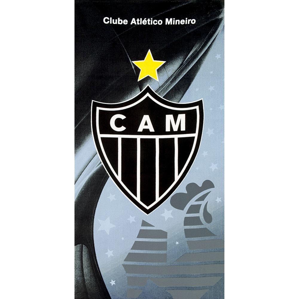 2ce51b6b6069 Toalha De Banho Aveludada Atlético Mineiro Mod 02 Dohler - R$ 43,90 ...