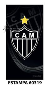 32087c29d2fd As Mais Lindas Toalhas De Banho Atletico Mg no Mercado Livre Brasil