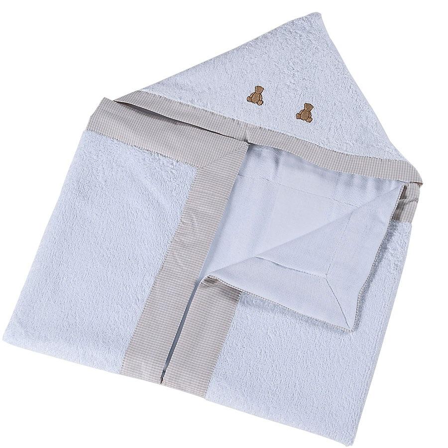 02dcb3e707 toalha de banho enxoval bebê menino com capuz requinte luxo. Carregando  zoom.