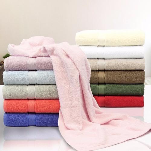 toalha de banho felpuda 100%  algodão pamela amarela