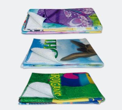 toalha de banho macia - sublimação total - 70 x 140 cm 10 un