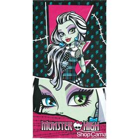 Toalha De Banho Monster High Lepper- Promoção