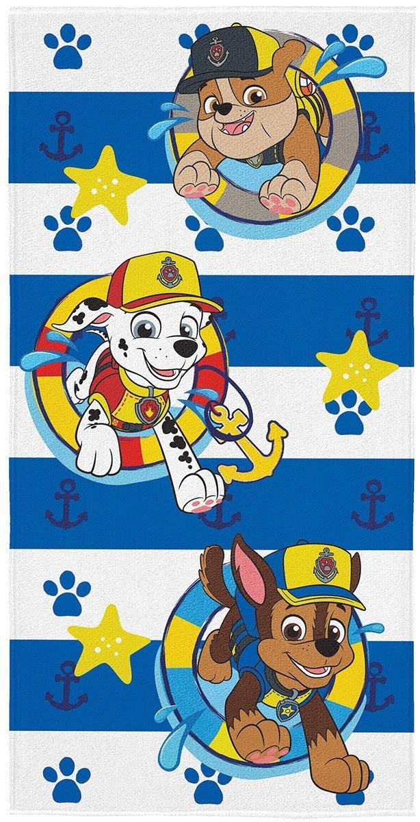 ecaf383d31f3 toalha de banho patrulha canina menino lepper infantil azul. Carregando  zoom.