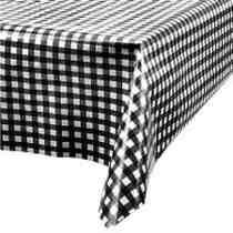 toalha de festa mesa de convidados xadrez várias cores 10uid