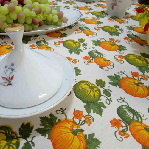toalha de mesa 2,80x1,48m 8 cadeiras estampada 100% algodão