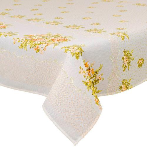 toalha de mesa 4 lugares 1,45x1,45m - atacado 10 unidades