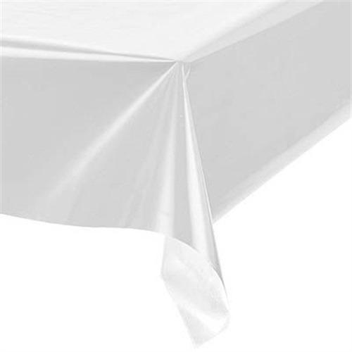 toalha de mesa branca perolizada 79cm x79cm com 10 unidades