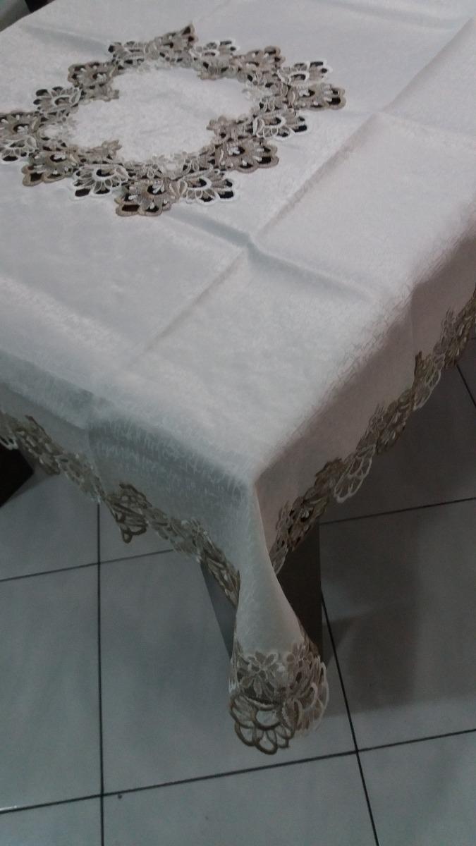 15cf518431 Toalha De Mesa Rendada Veneza 1