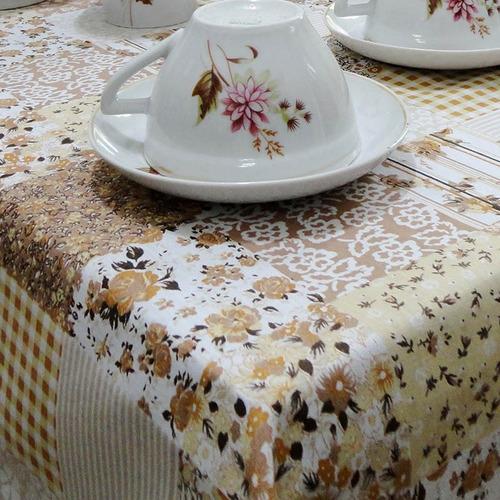 toalha de mesa retangular estampada 2,80m x 1,48m 8 cadeiras