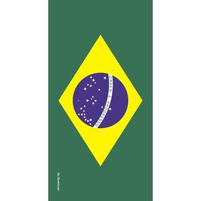 992f1d2a8 Toalha De Banho Com Bandeira no Mercado Livre Brasil