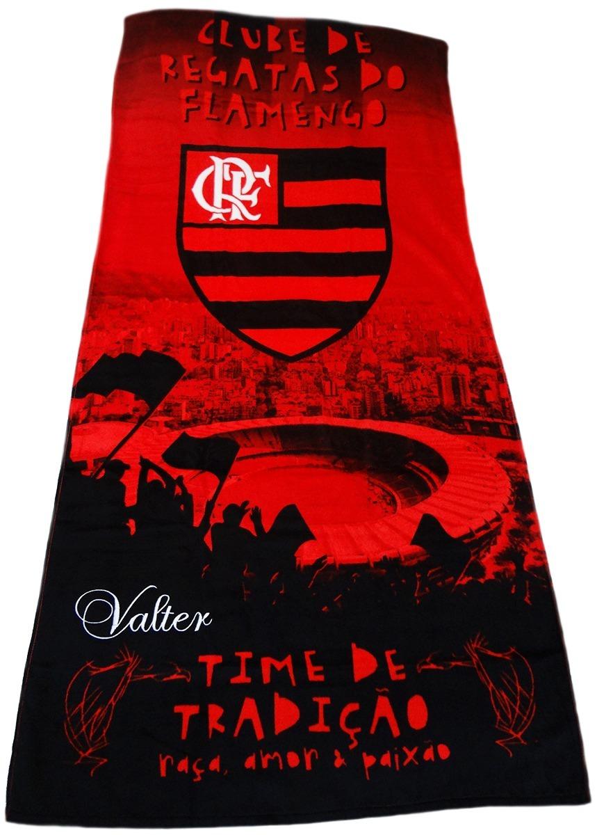 608c3ed61903 Toalha De Praia Do Flamengo Com Nome Bordado. - R$ 84,90 em Mercado ...