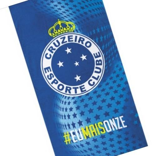 Toalha De Praia Dolher Velour Cruzeiro 08 - R  49 b9950b61a7597