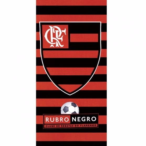 30714347498d Toalha De Praia Flamengo Listras - R$ 48,90 em Mercado Livre
