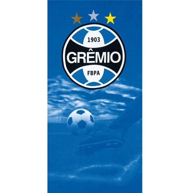 2c0f7f3bf1 Toalha De Praia Gigante Aveludada Times Grêmio 07 Dohler - R  44