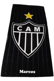 bce04e811f23 Toalha De Banho Atlético Mineiro Minas Gerais Belo Horizonte - Casa, Móveis  e Decoração no Mercado Livre Brasil