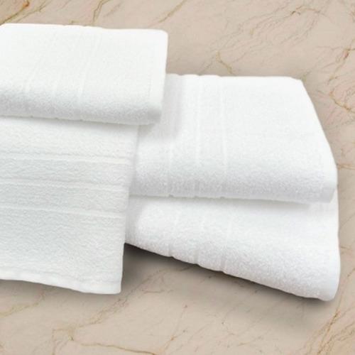 toalha de rosto branca roma