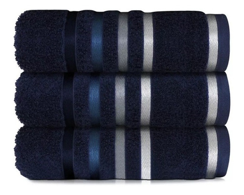 toalha de rosto karsten lumina 1 peça - azul