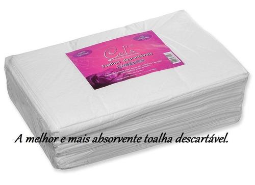 toalha descartável para cabelos