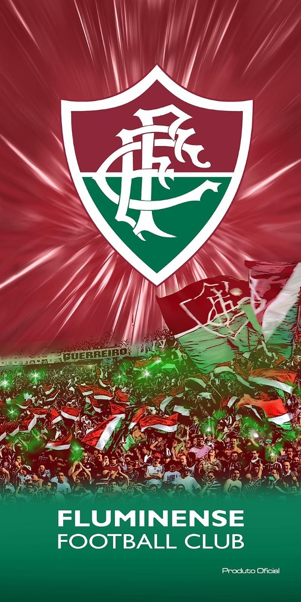 Toalha Felpuda Time De Futebol - Fluminense  fab3201a378ef