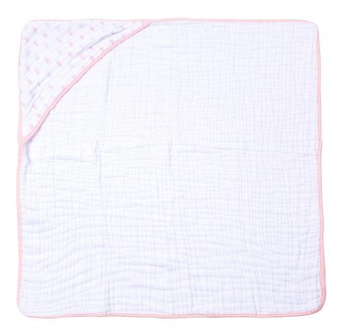 toalha fralda com capuz 80 cm x 80 cm papi soft 100% algodão