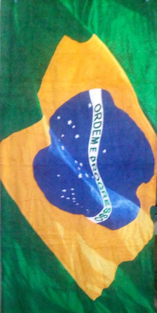 7d0568c5e toalha gigante aveludada bandeira brasil. oficial buettner. Carregando zoom.