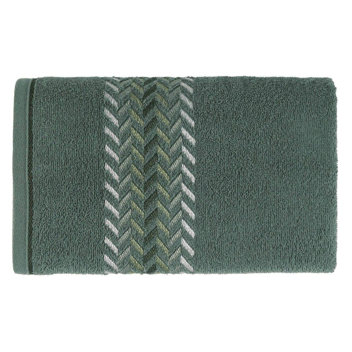 07f6b2679 Toalha Karsten Softmax Jhonson Banho 70 X 135 Cm Verde Bonsa - R  50 ...